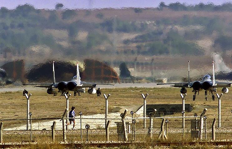 Авиабаза Инджирлик, Турция