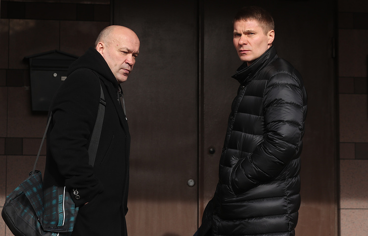 Игорь Гапанович (слева) и Дмитрий Минин