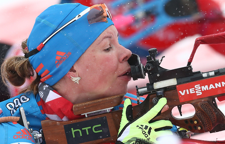 Русский биатлонист Волков стал вторым в особой гонке наэтапе Кубка IBU