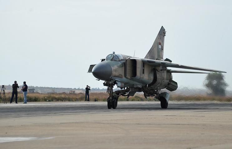 Награнице сТурцией разбился сирийский военный самолет
