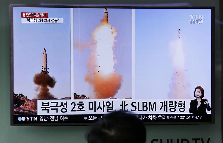 ВЮжной Корее неисключают, что КНДР проверила обновленный тип ракет