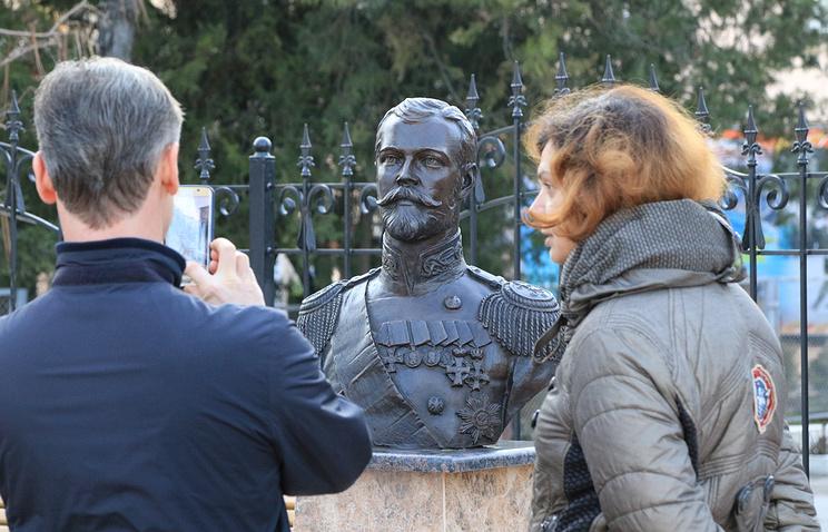 Бюст Николая ІІ в Симферополе