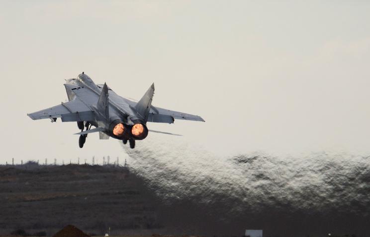 Истребители перехватчики МИГ-31 совершили перелет сКамчатки вПриморье