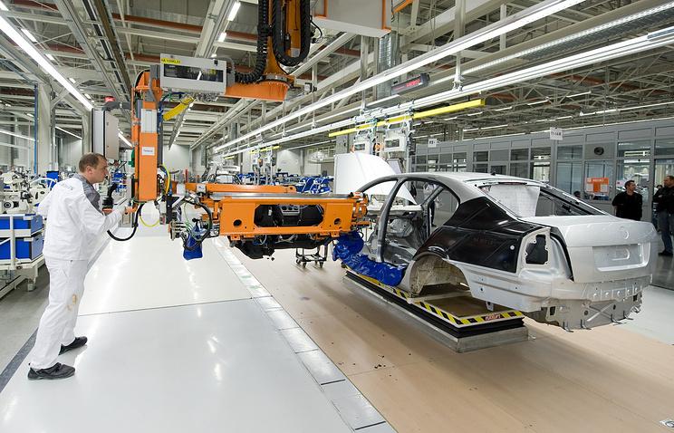 Сборка автомобилей Skoda Fabia на заводе немецкого концерна «Volkswagen»