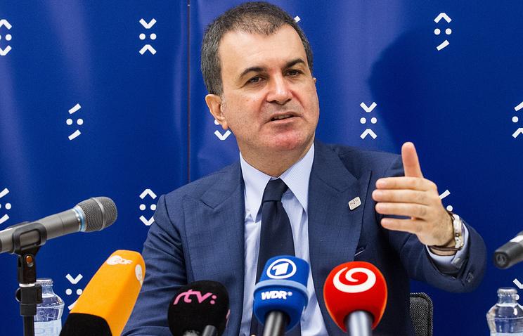 Министр Турции по вопросам ЕС Омер Челик