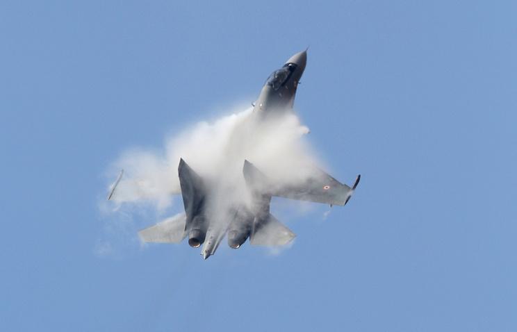 Насеверо-западе Индии разбился истребитель Су-30МКИ