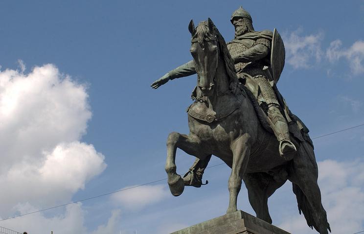 Памятник Юрию Долгорукому на Тверской площади
