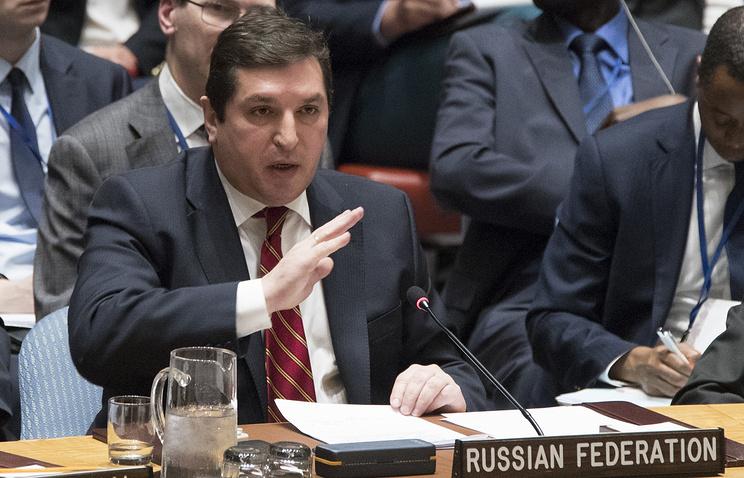 РФ вСБ ООН ответила напопытку Великобритании поссорить столицу иДамаск