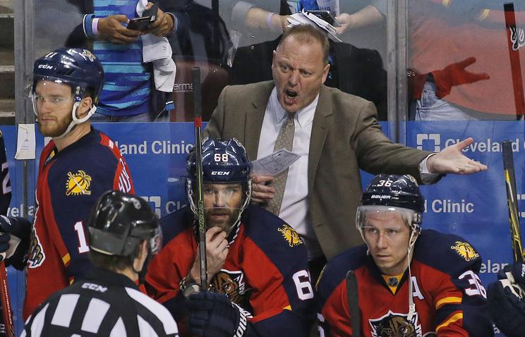 Галлан займёт пост основного тренера дебютанта НХЛ «Лас-Вегас Голден Найтс»