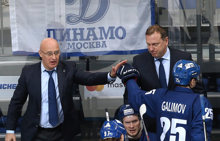 Владимир Воробьев (справа)