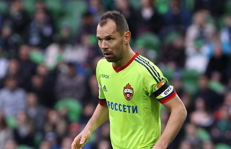 Игнашевич— 2-ой футболист, проведший 500 матчей заЦСКА