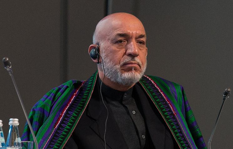 Президент Афганистана с 2002 по 2014 гг. Хамид Карзай