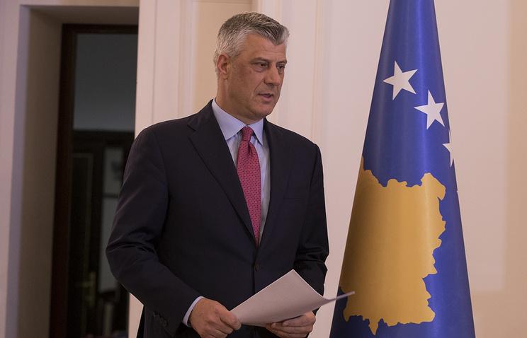 Президент Косово распустил парламент