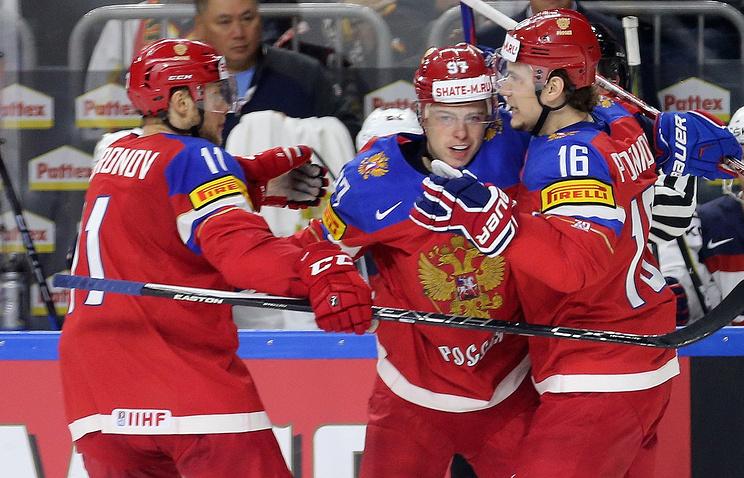 Определился конкурент  сборной Российской Федерации  вчетвертьфиналеЧМ похоккею