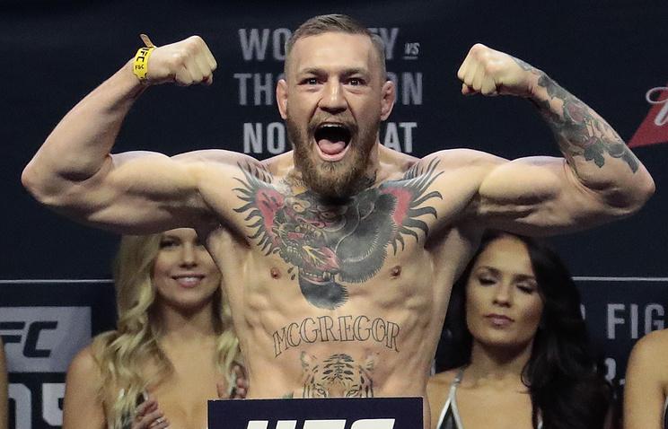 Макгрегор подписал договор  напроведение боксёрского поединка сМейвезером