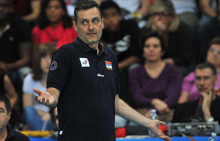 Главный тренер женской сборной Сербии Зоран Терзич
