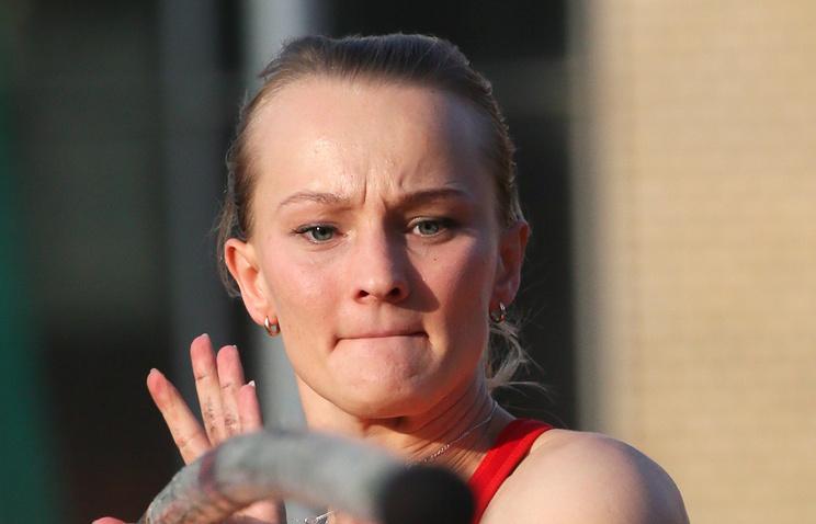 Сидорова стала победительницей командного чемпионата Российской Федерации впрыжках сшестом