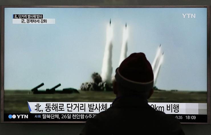 КНДР осуществила очередной ракетный запуск