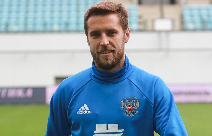 Дмитрий Комбаров. Сборная России по футболу