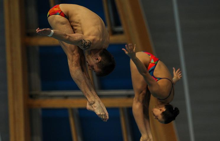 Российские спортсмены Надежда Бажина и Виктор Минибаев