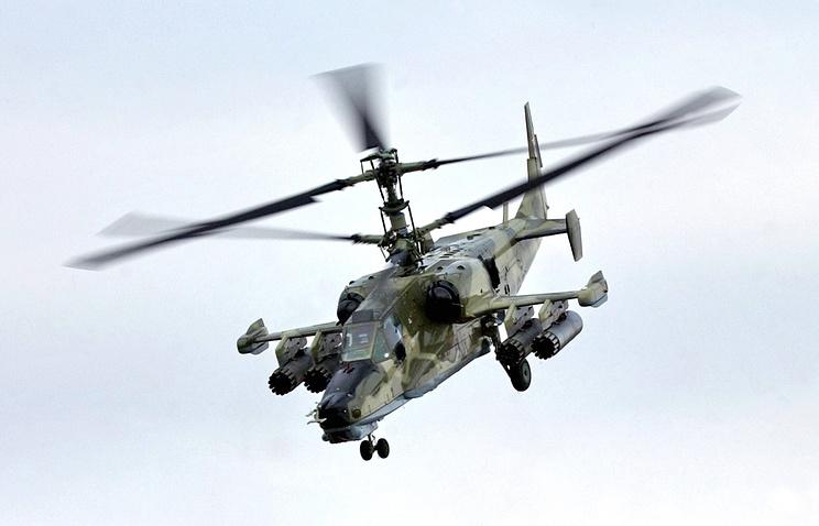 """Вертолет Ка-50 """"Черная акула"""""""