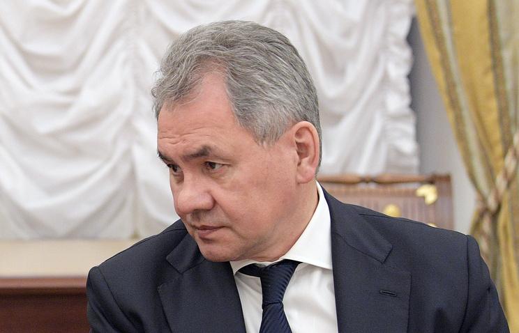 Министр обороны России Сергей Шойгу, 16 июня