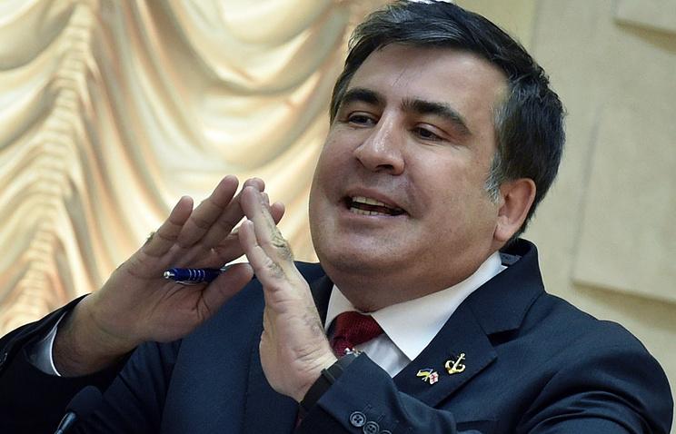 Саакашвили пригрозил Порошенко акциями протеста