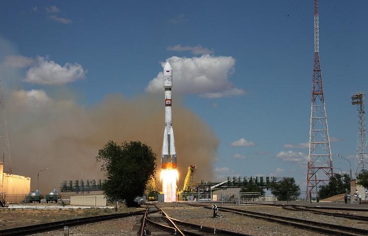 """Пуск ракеты-носителя """"Союз-2.1а"""", 14 июля"""