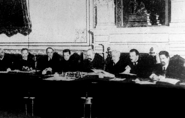 Заседание Временного правительства, 1917 год
