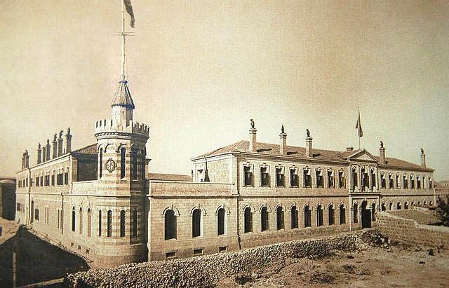 Сергиевское подворье в Иерусалиме, 1889 год