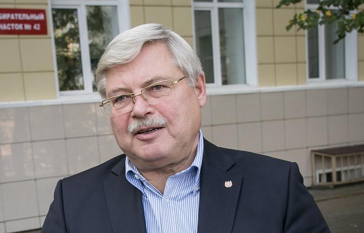Жвачкин подал документы для регистрации на выборы томского губернатора