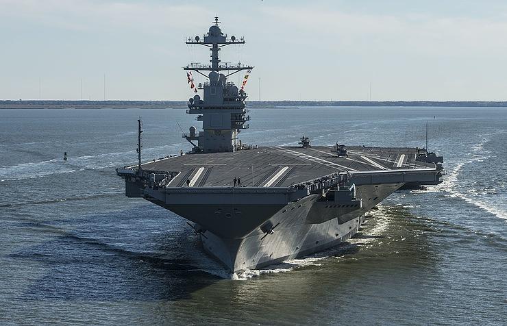 Авианосец ВМС США Gerald Ford