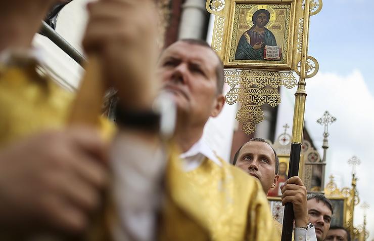 Православные христиане отмечают День крещения Руси - Общество - ТАСС