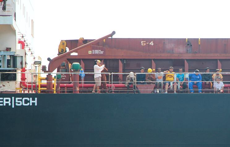 Операция по спасению моряков сухогруза Anda