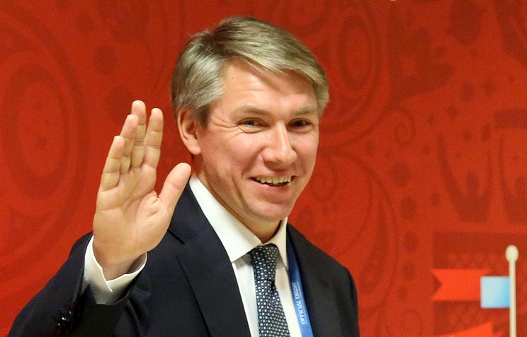 """Генеральный директор оргкомитета """"Россия-2018"""" Алексей Сорокин"""