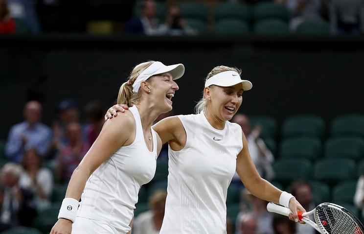 Теннисистки Веснина иМакарова выиграли турнир вТоронто впарном разряде