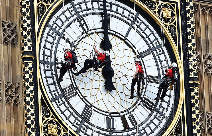 Биг-Бен встолице Англии примет «обет молчания» на 4 года