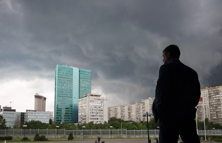 МЧС предупредило о стремительном ухудшении погоды вМосковском регионе вближайшие часы