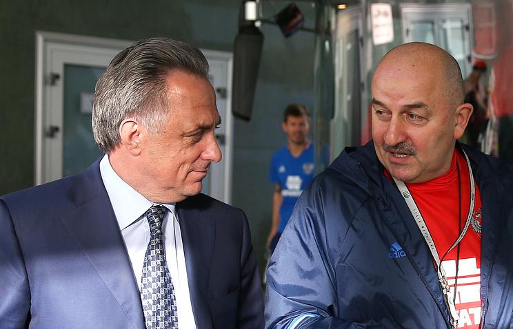 Сборная Российской Федерации пофутболу проведет товарищеские матчи сЮжной Кореей иИраном