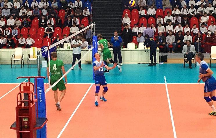 Кадыров иПатрушев открыли дворец волейбола вЧечне