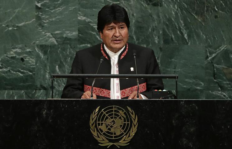 Президент Боливии призвал ввести единое гражданство для всех людей