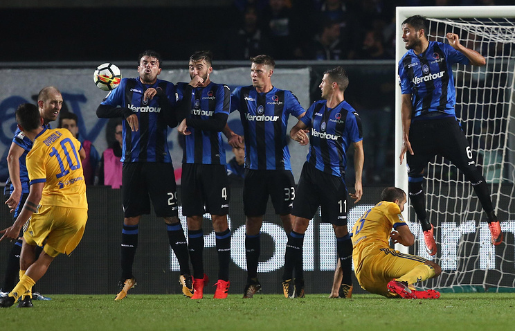 «Ювентус» потерял первые очки вСерии А, сыграв вничью с«Аталантой»