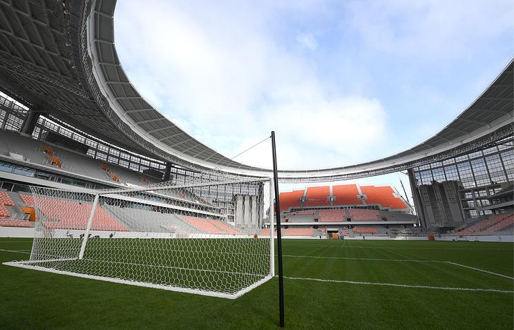 Топ-менеджер FIFA назвал необычными временные трибуны Центрального стадиона