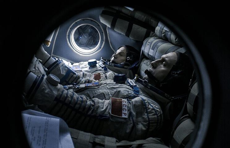 "Кадр из фильма ""Салют-7"", режиссер Клим Шипенко, 2017 год"