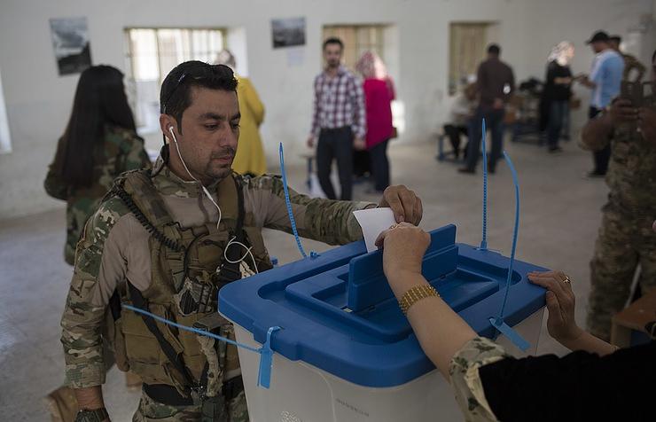 Власти Иракского Курдистана сообщили, что готовы заморозить результаты референдума онезависимости