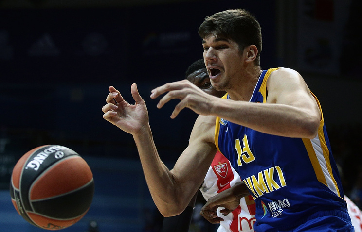 Баскетбольные «Химки» обыграли вМадриде «Реал»