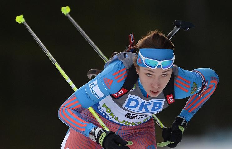 Уроженка Можги Ульяна Кайшева выиграла спринт наКубке IBU вНорвегии