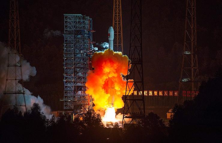 КНР  запустил наорбиту три спутника удалённого зондирования
