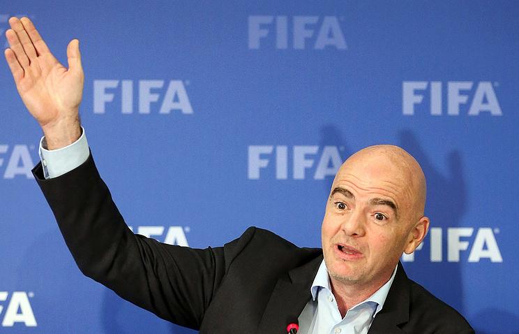 Руководитель ФИФА: будем отменять матчи чемпионата мира из-за проявлений расизма