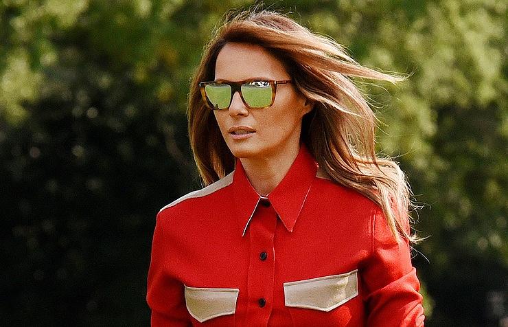 Белый дом: Меланья Трамп гордится ролью первой леди США